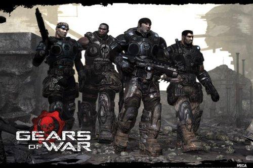 Poster Gears Of War - squadra - 61 cm x 91,5 cm