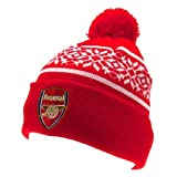 Official Arsenal Ski Hat Knitted Beanie 2013 14 by Arsenal F.C.
