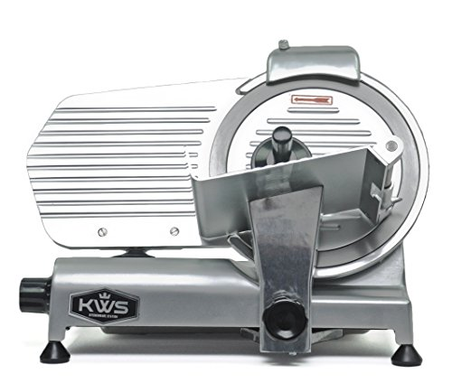 KWS Premium Commercial 320w Electric Meat Slicer 10