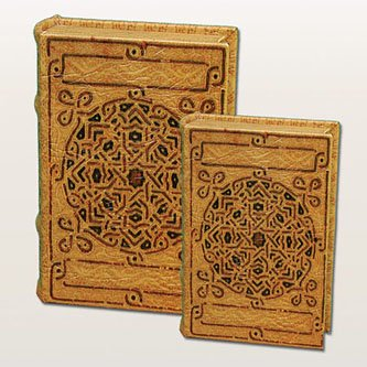 Ancient Celtic Motif Celtic Knot Design Irish Secret Book Box Set