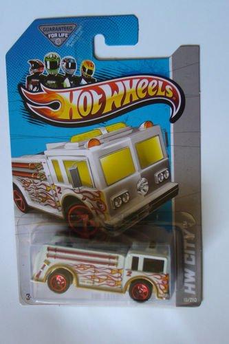 Hot Wheels-2013 Treasure Hunt T Huts Fire Eater #19/250 New - 1