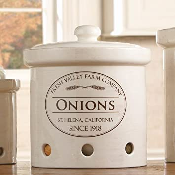Onion Bin Storage Containers, Cut Or Whole