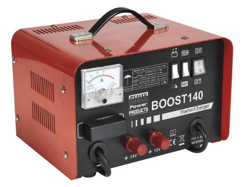 Sealey BOOST140 Starter/ Charger, 140/ 25 A, 12/ 24/ 230 V
