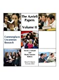img - for The Azrieli Papers Volume II by David J. Schnall and Moshe Sokolow (2013-08-30) Hardcover book / textbook / text book