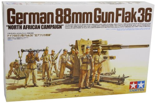 1/35 German 88Mm Flak36, Africa