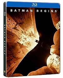 Batman Begins (Limited Edition SteelBook) [Blu-ray]