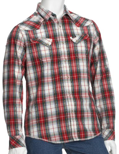 Lee Men's Wilbur Shirt - Ribbon Red - Large
