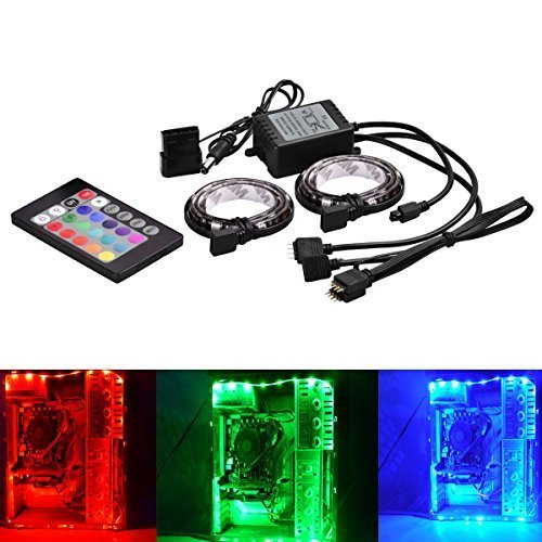 how to connect rgb led strip to pc