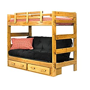 Twin over futon bunk bed twin sleeper sofa for Sofa bed amazon