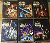 Star Wars The Complete DVD Movie Collection 1 - 6 I II III IV V VI Spanish Cover Version Episode 1 - Phantom Menace / Episode 2 - Attack Of the Clones / Episode 3 - Revenge of the Sith / Episode 4 - The New Hope / Episode 5 - The Empire Strikes Back / Ep