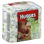 Huggies Baby Wipes, Fragrance Free 3 - 56 count packs [168 wipes]