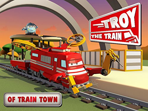 Troy in Train Town on Amazon Prime Video UK