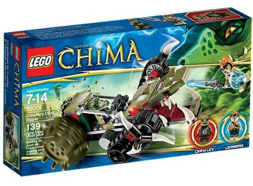 Lego Legends of Chima 70001 - Crawleys Reptiliengreifer