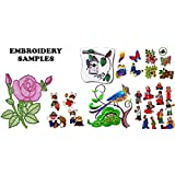60,000+ Embroidery Machine Patterns Designs Files in .Pes & .Hus on Dvd