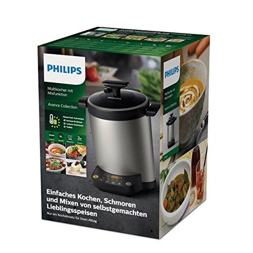 Philips hr2206 80 robot cuiseur pour cuire mixer m tallis 32 x 282 x 357 cm - Philips robot cuiseur ...