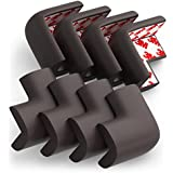 Corner Guards, Baby Bumpers, Furniture Corner Protector, preapplied 3M tape, 8pc