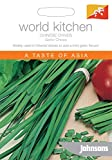 Johnsons World Botanics Vegetable - Pictorial Pack - Chinese Chives - Garlic Chives - 400 Seeds