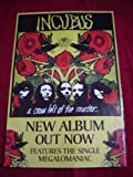 INCUBUS A CROW LEFT OF THE MURDER 28 X 20 approx INCHES POSTER