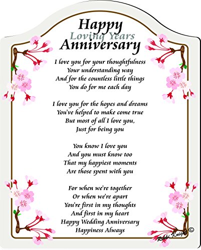 Happy Anniversary Poems For My Husband