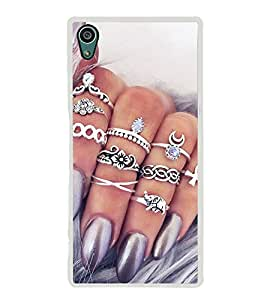 Bling 2D Hard Polycarbonate Designer Back Case Cover for Sony Xperia Z5 :: Sony Xperia Z5 Dual