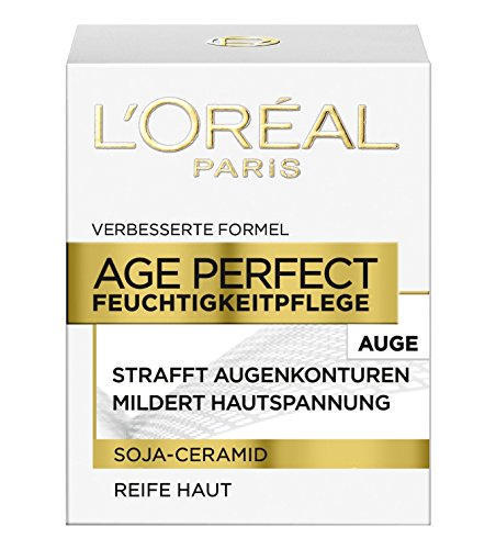 L'Oréal Paris Dermo Expertise Age Perfect mit Soja Substanz Augenpflege, 1er Pack (1 x 15 ml) thumbnail