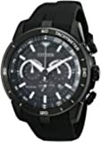 Citizen Men's CA4157-17E Eco-Drive Ecosphere Black Ion Plated Stainless Steel Watch