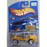 Hot Wheels 2002 Oshkosh Snowplow Yellow #171
