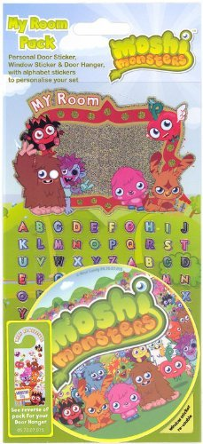 Moshi Monsters My Room Sticker Pack