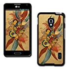 Design Collection Hard Phone Cover Case Protector For LG Optimus F6 D500 / MS500 #2578