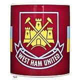West Ham United FC Football Big Crest Mug