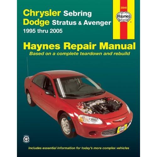 download free repair manual 1996 chrysler sebring diigo 1996 Chrysler Sebring Convertible Problems 1996 Chrysler Sebring JX
