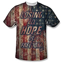 Fight Club Losing Hope All Over Print Front T-Shirt