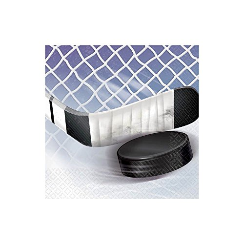 NHL Ice Time Dessert Napkins 16 Pack