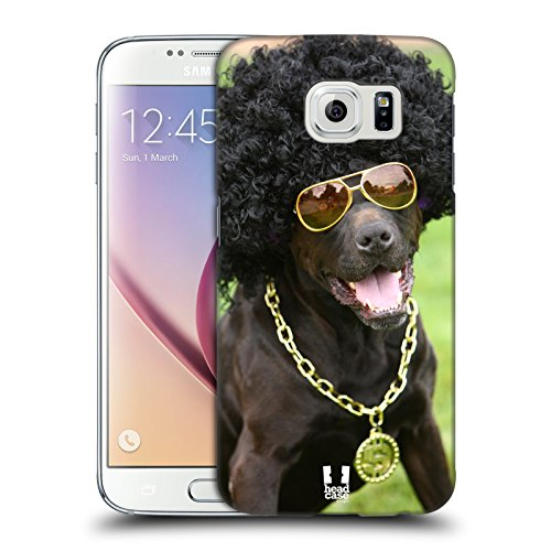 Head Case Designs Dog In Funny Costume Funny Animals Protective Snap-on Hard Back Case Cover for Samsung Galaxy S6 G920, Galaxy S6 (Costume Duos)