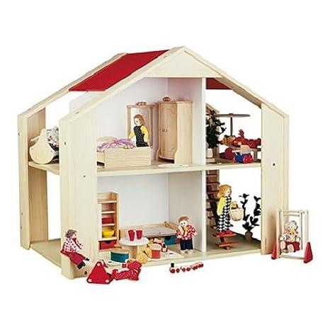 Rulke Holzspielzeug 23122 Sonnenschein Maison de poupée en bois