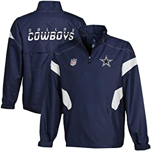 Dallas Cowboys Sideline Jacket Adult Size Medium - Authentic RBK Gameday Collection... by Reebok