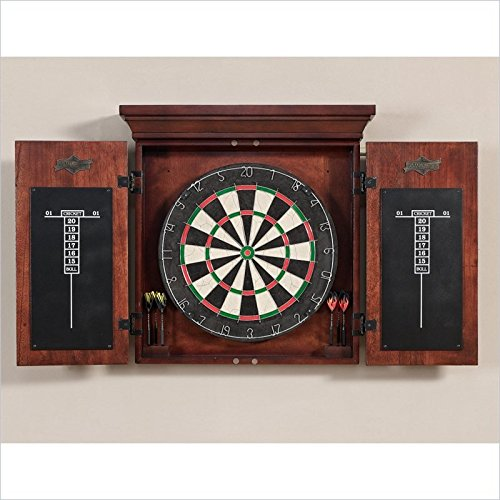 New American Heritage Athos Bristle Dart Board Complete Set