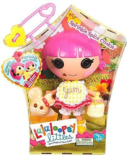 Adorable Lalaloopsy Littles Doll - Sprinkle Spice Cookie