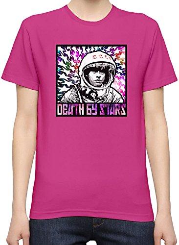 Yuri Gagarin Death By Stars T-Shirt per Donne XX-Large