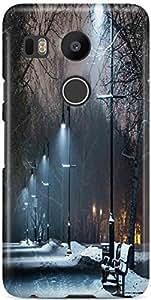 KSC Desginer Printed Hard Back Case Cover For LG Google Nexus 5X