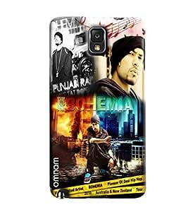 Omnam Bohemia Printed Designer Back Cover Case For Samsung Galaxy Note 3