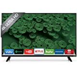 "VIZIO D40u-D1 D-Series 40"" Class Ultra HD Full-Array LED Smart TV (Black)"