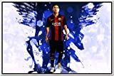 Messi Posters - Lionel Messi - FC Barcelona Sports Poster - Messi Posters for room -Messi Posters Barcelona - Motivational Inspirational football Quotes posters for room - 34