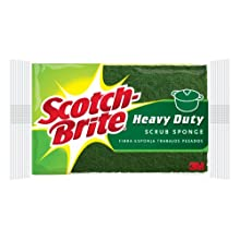 Scotch-Brite Kitchen Scrub Sponge 425, 1-Count