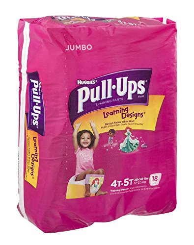 Huggies Pull-Ups Learning Designs Training Pants Disney 4T-5T 18 CT (Pack of 4) - 1