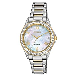 Citizen Eco-Drive Drive POV Stainless Steel - Two-Tone Women's watch #EM0234-59D