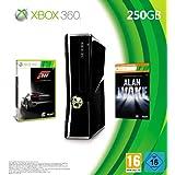 """Xbox 360 - Konsole Slim 250 GB inkl. Forza 3 (auf zwei DVDs) + Alan Wake (als Download-Code f�r Xbox LIVE)von """"Microsoft"""""""