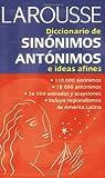 Diccionario de sinonimos, antonimos, e ideas afines