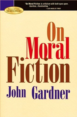Image for On Moral Fiction.