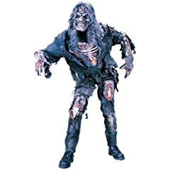 FunWorld Mens  Complete 3D Zombie-Adult Costume
